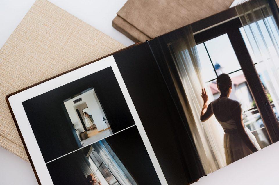 Сватбените фото книги